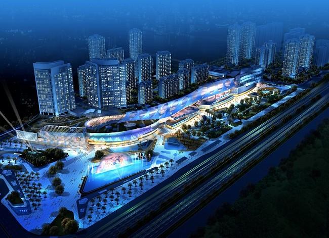 Il progetto di Huafa Mall