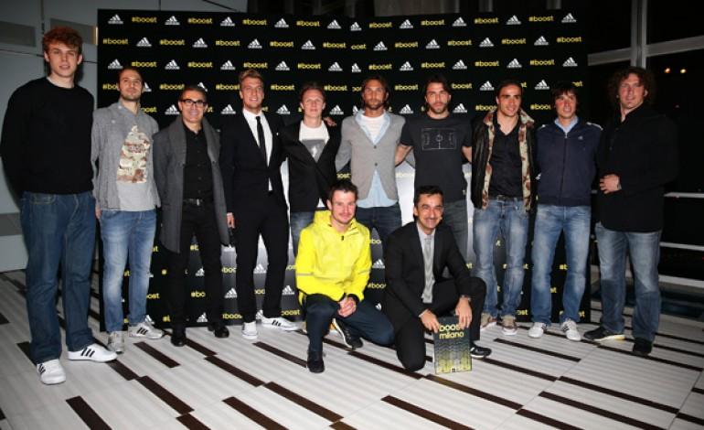 L'energy Boost di Adidas accende Milano