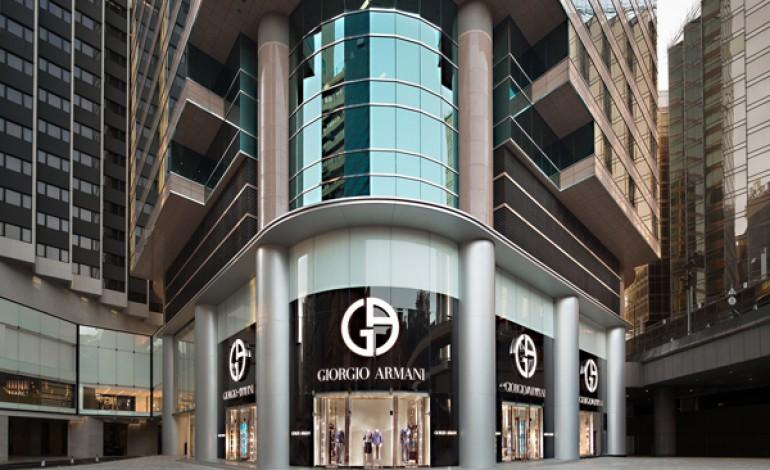 Giorgio Armani apre in Canton Road a Hong Kong