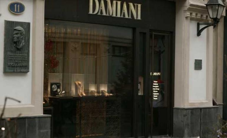 Damiani apre nel cuore del lusso moscovita