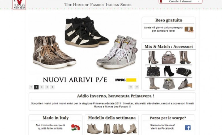 Nel 2013 le scarpe made in Italy marciano online (+55%)