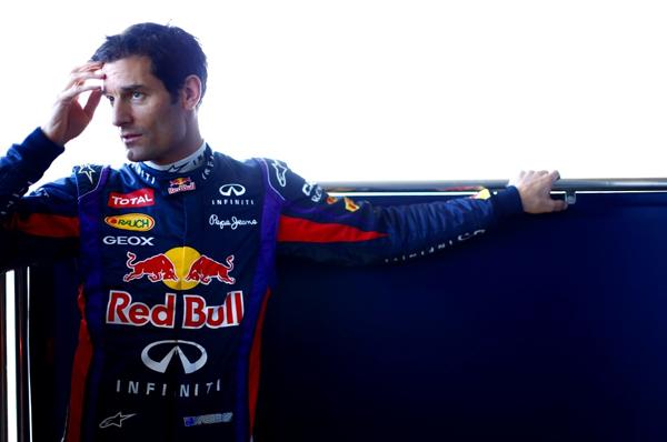 Mark Webber pilota di Formula Uno