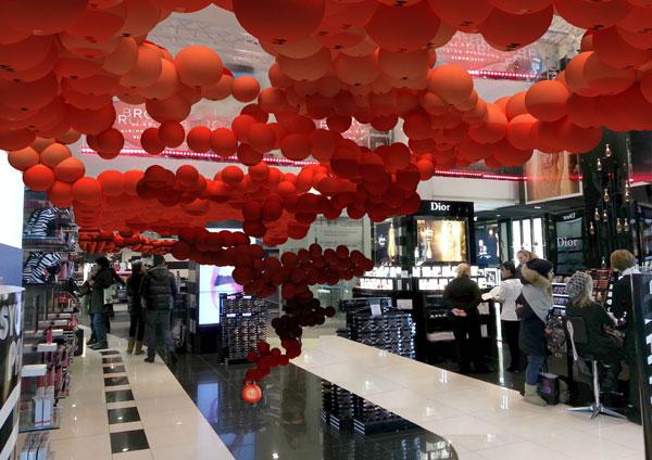 Il rendering dell'interno dello store Sephora