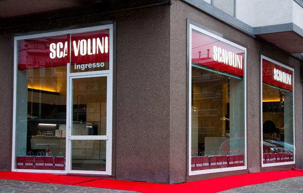Lo store Scavolini ad Ancona