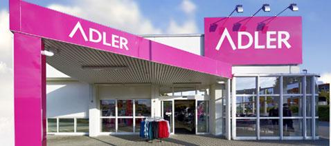 Un punto vendita Adler
