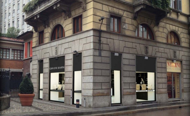 La boutique di Raspini si sposta in San Babila a Milano
