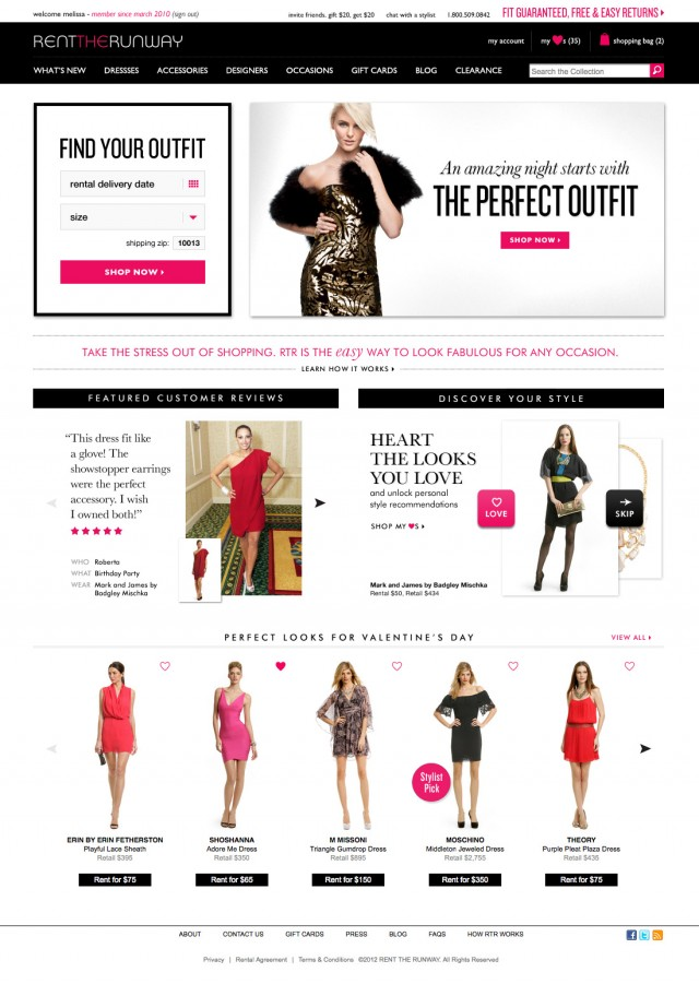 Homepage Rent the runaway
