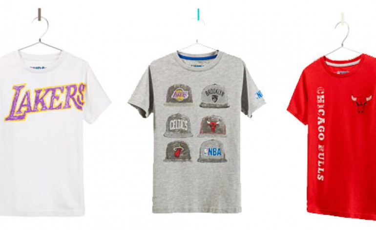 Zara e Nba, limited edition per il basket