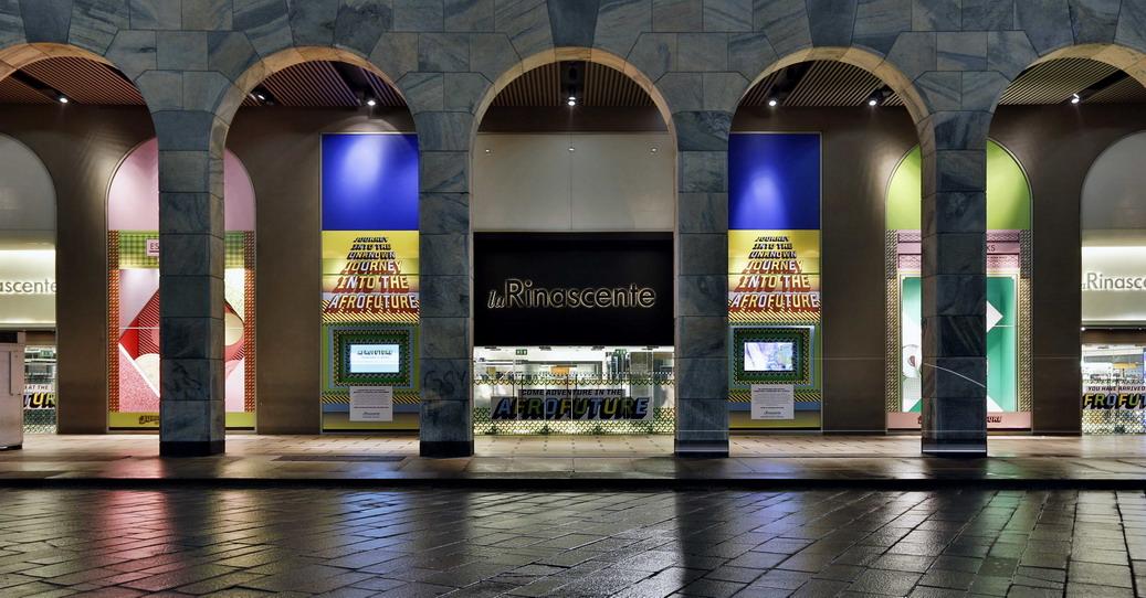 Vetrine Afrofuture La Rinascente Duomo