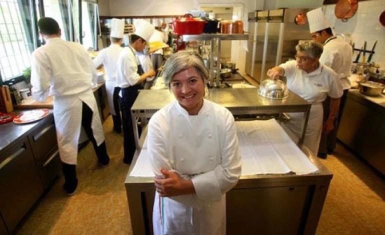 È Santini di Dal Pescatore la migliore chef al mondo