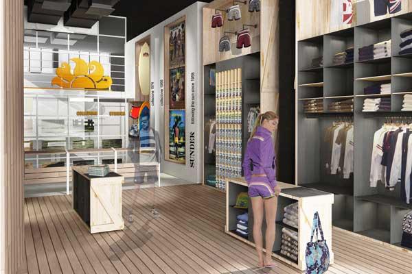 Concept store Sundek