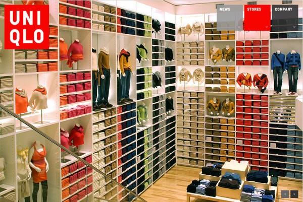 Un negozio Uniqlo