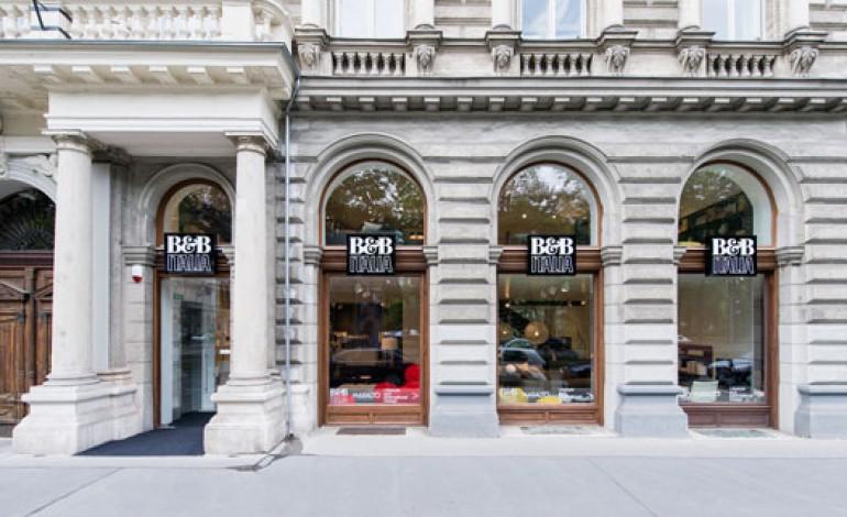 B&B Italia, primo store in Austria