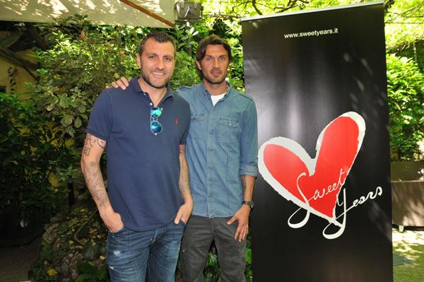 Bobo Vieri e Paolo Maldini
