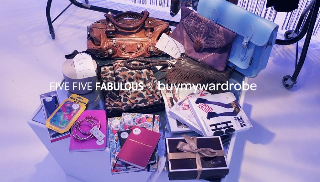Five Five Fabulous per BuyMyWardrobe