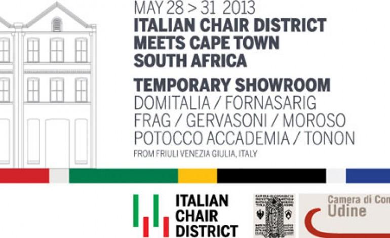 La sedia italiana di design sbarca in Sud Africa