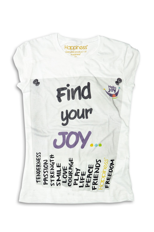 "T-Shirt ""Hello Joy"""
