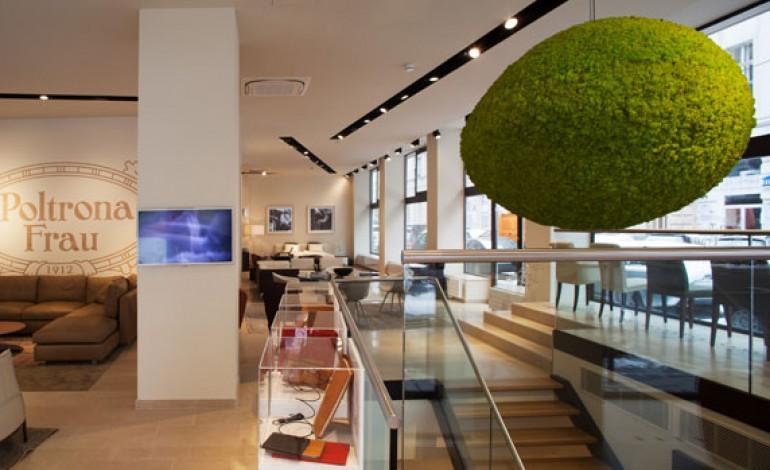 Debutta il primo showroom Poltrona Frau in Austria