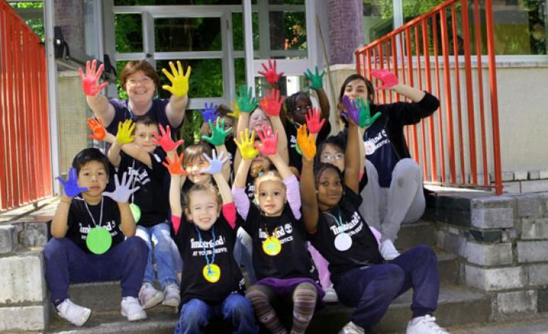 Earth day, l'impegno green di Timberland per una scuola milanese