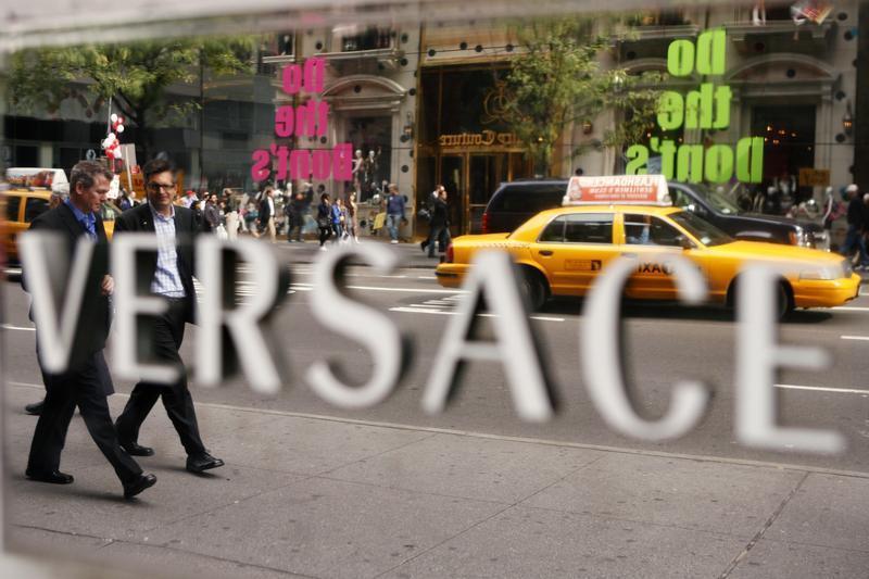 Store di Versace in Fifth Avenue in New York