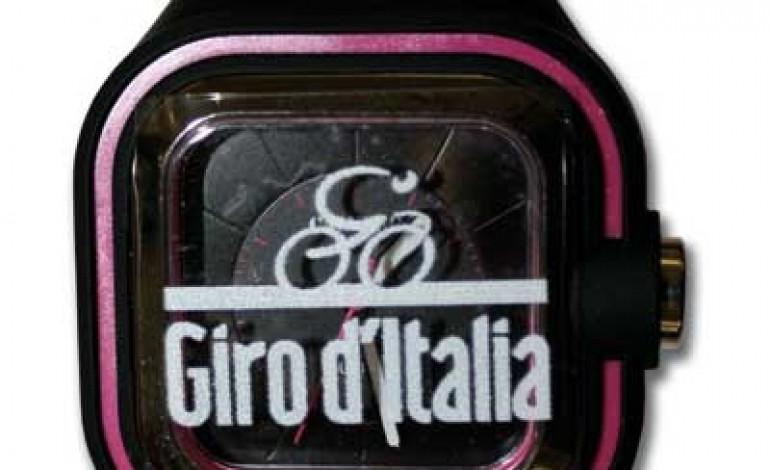 Calypso in sella con il Giro d'Italia