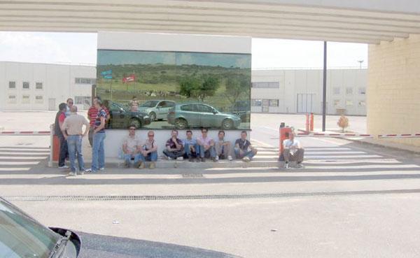 Dipendenti Natuzzi in sciopero