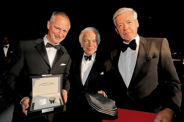 Wilhelm Schmid, Ralph Lauren e Ulrich Knieps, Head of BMW Group Classics