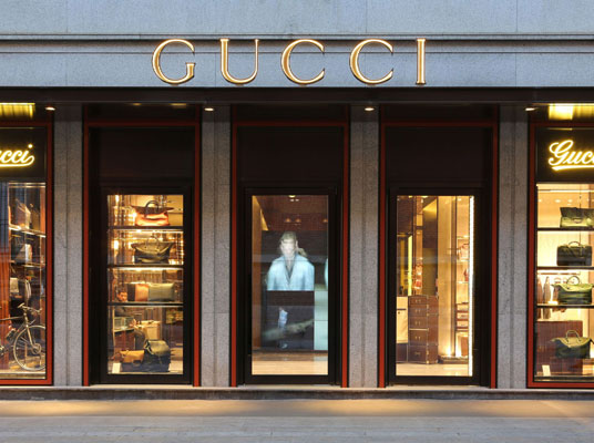 Boutique Gucci in Brera