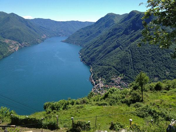 Una veduta del Lago di Como