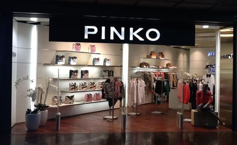 Pinko vola in aeroporto e apre 3 boutique