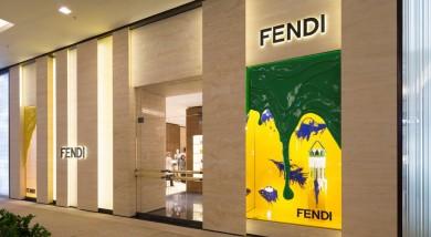 Il negozio Fendi a San Paolo