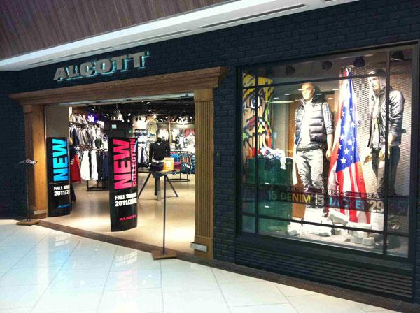 Un punto vendita Alcott