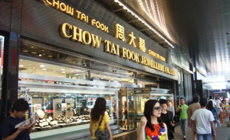 I gioielli Chow Tai Fook fanno +63% nel primo trimestre