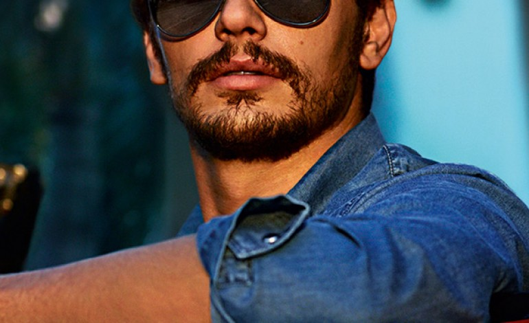 James Franco protagonista dell'eyewear di Gucci