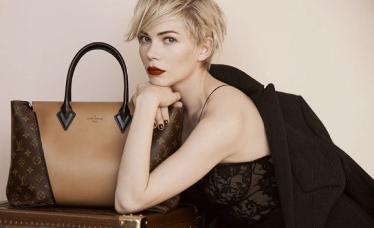 Michelle Williams per la nuova campagna Louis Vuitton