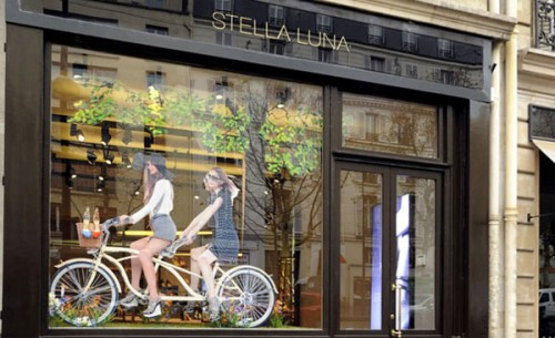 Il flaghship store Stella Luna a Parigi