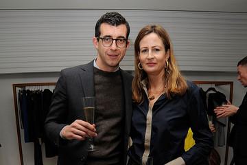 Victoria Hennessy insieme a Graeme Fidler