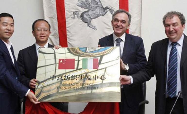 Prato, debutta il centro tessile italo-cinese