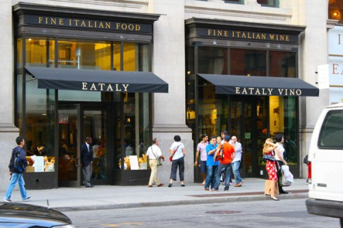 Lo store Eataly a New York