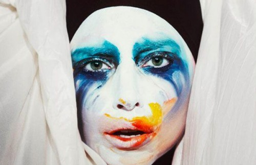 LA COPERTINA DEL SINGOLO APPLAUSE DI LADY GAGA