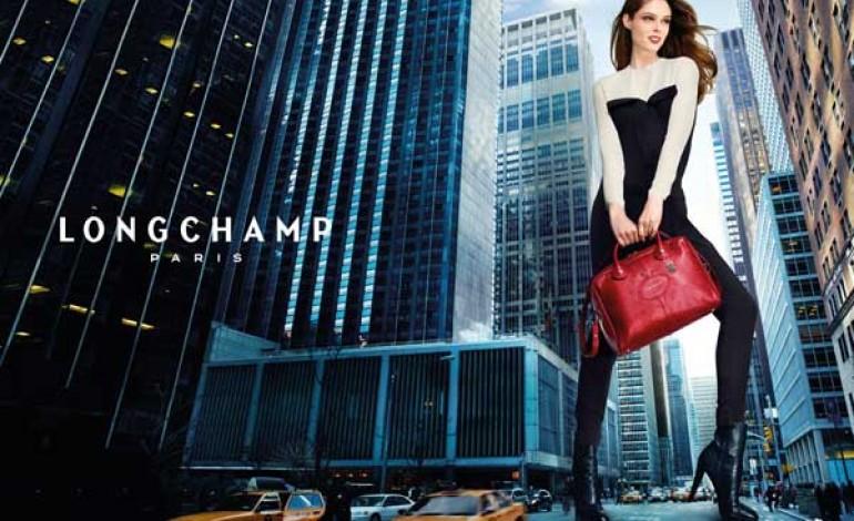 Coco Rocha alla conquista di New York per Longchamp