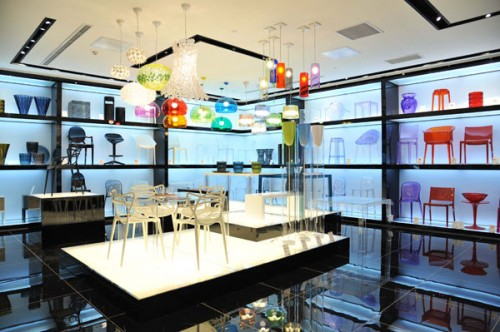 Il flagship store Kartell a Beijing