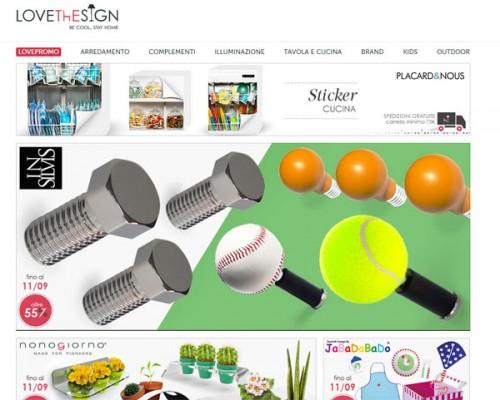 Una schermata del sito