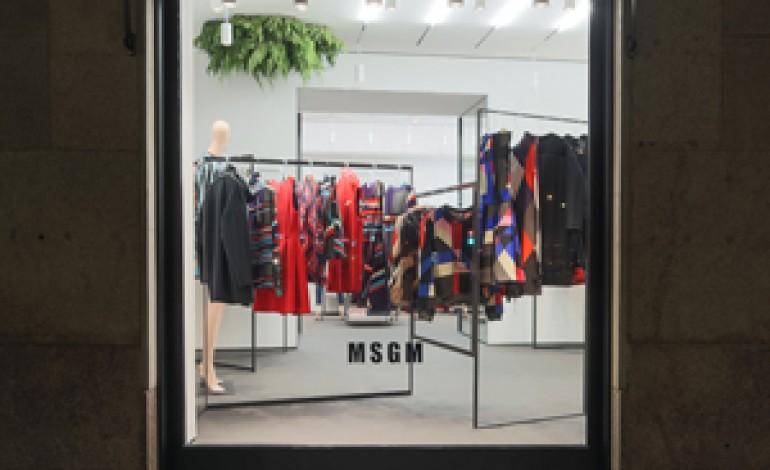 Msgm apre a Milano il primo monomarca