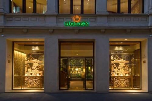 Rolex - via Montenapoleone, Milano