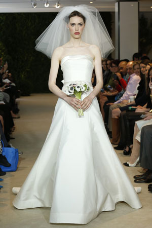Carolina Herrera bridal P/E 2014. Ph: John Aquino