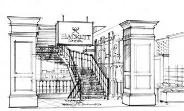Hackett London, in Regent Street il più grande store