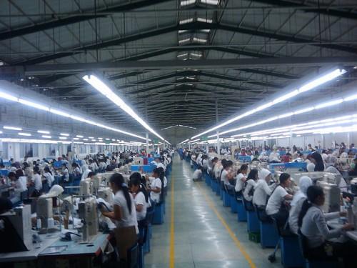 Uno stabilimento in Vietnam
