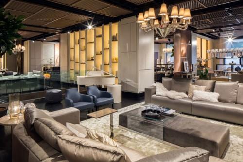 Lo showroom Luxury Living a Manhattan