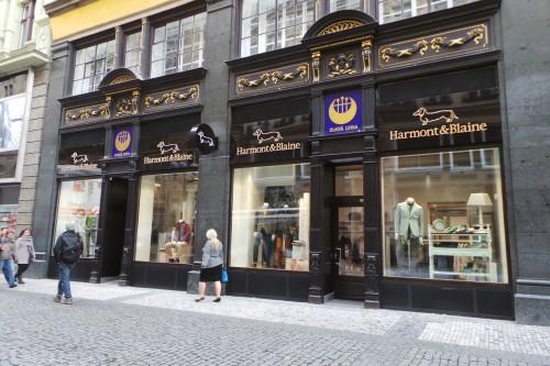 Store di Harmont & Blaine a Praga